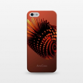 iPhone 5/5E/5s  Your Bronze Cyborg Heart by Adoryanti