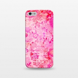 iPhone 5/5E/5s  Rose Floral by M.O.K.