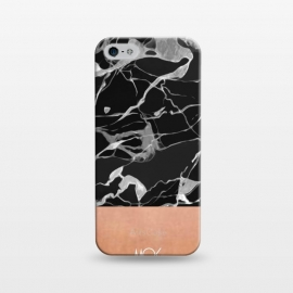iPhone 5/5E/5s  Marble and Pink Copper by M.O.K. ()