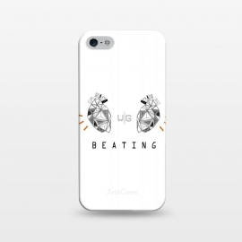 iPhone 5/5E/5s  Hearts Capicúa by W-Geometrics