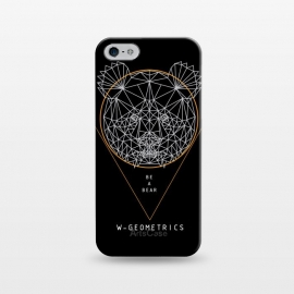 iPhone 5/5E/5s  Bear Black by W-Geometrics ()