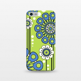 iPhone 5/5E/5s  Blue Flowers by Shelly Bremmer ()