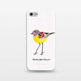 iPhone 5/5E/5s  Gray Wagtail by Stefania Pochesci