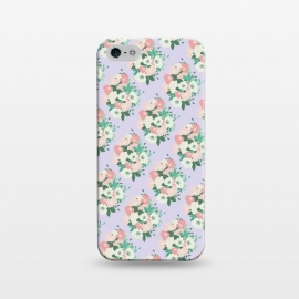 iPhone 5/5E/5s  Bouquet Lilac by Zoe Charlotte