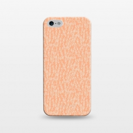 iPhone 5/5E/5s  Coral Leaves by Zoe Charlotte