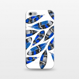 iPhone 5/5E/5s  Northern Feather Blue by  ()
