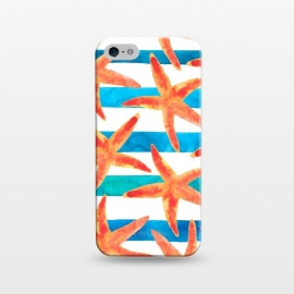 iPhone 5/5E/5s  Starfish Tropics by Amaya Brydon