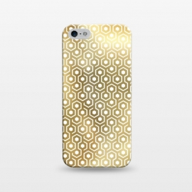 iPhone 5/5E/5s  Gold Geometry by M.O.K. ()