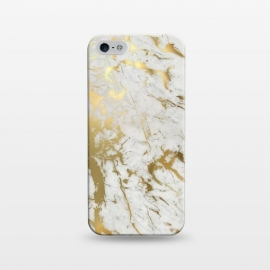 iPhone 5/5E/5s  Gold Marble by  ()