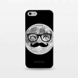 iPhone 5/5E/5s  Moonstache by Mitxel Gonzalez