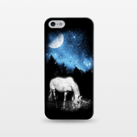 iPhone 5/5E/5s  Mooonlight Unicorn by Mitxel Gonzalez