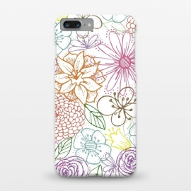 iPhone 8/7 plus  Bright Floral by TracyLucy Designs ()