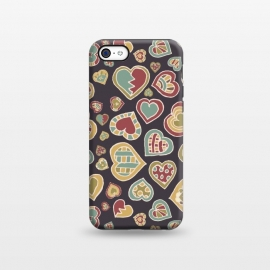 iPhone 5C  I Heart Doodling by Micklyn Le Feuvre