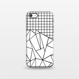 iPhone 5C StrongFit AB Grid White by Project M ()