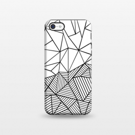iPhone 5C  AB Half and Half White by Project M