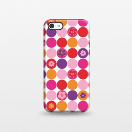 iPhone 5C  Spring Circles by Julia Grifol ()