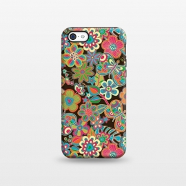 iPhone 5C  My Butterflies and Flowers by Julia Grifol