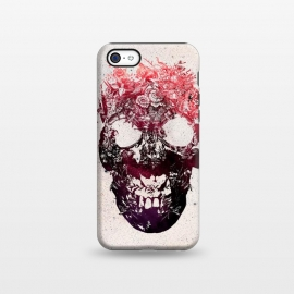 iPhone 5C  Floral Skull by Ali Gulec ()