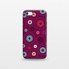 iPhone 5C  FloralCogs by Rosie Simons ()