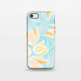 iPhone 5C  Blumen Blue by Anchobee ()