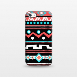 iPhone 5C  Black Tipi by Nika Martinez ()