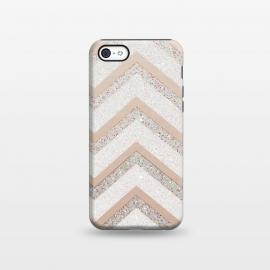iPhone 5C  Nude Chevron by Monika Strigel ()