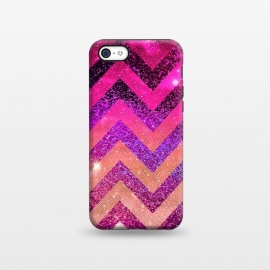 iPhone 5C  Chevron Water Galaxy by Monika Strigel ()