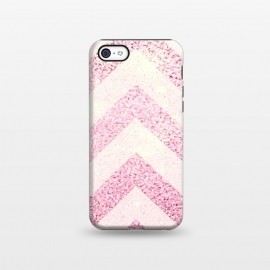 iPhone 5C  Party Chevron Powder by Monika Strigel ()