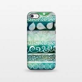 iPhone 5C  Dreamy Tribal by Pom Graphic Design ()