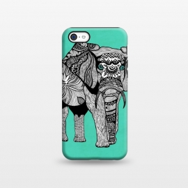 iPhone 5C  Elephant of Namibia by Pom Graphic Design ()