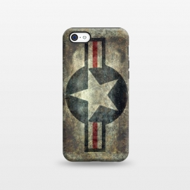 iPhone 5C  Airforce Roundel Retro by Bruce Stanfield ()