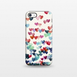 iPhone 5C  Heart Connections a watercolor painting by Micklyn Le Feuvre ()
