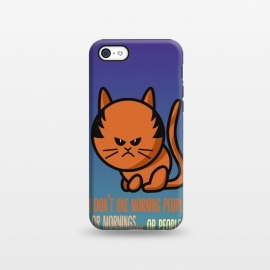 iPhone 5C  Cat by Richard Eijkenbroek