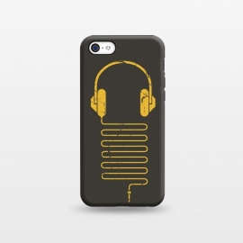 iPhone 5C StrongFit GOLD HEADPHONES by Sitchko Igor ()