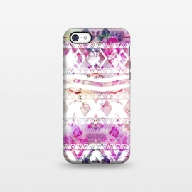 iPhone 5C  Nebula Flowers Floral by Girly Trend