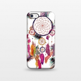 iPhone 5C  Dreamcatcher and Feather Pattern by Girly Trend