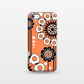 iPhone 5C  Orange Flowers by Shelly Bremmer
