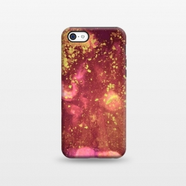 iPhone 5C  Gilded Flakes by Ashley Camille