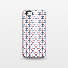 iPhone 5C  Americana Anchor by TracyLucy Designs