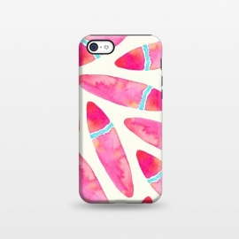 iPhone 5C  Pink Surf by Amaya Brydon