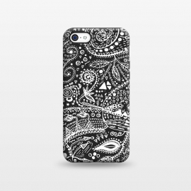 iPhone 5C  B&W Hand made by Eleaxart ()