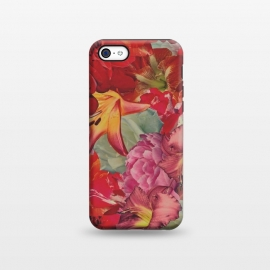 iPhone 5C  Vintage Flowers by Eleaxart ()