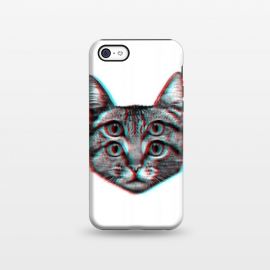 iPhone 5C  3D Cat by Mitxel Gonzalez