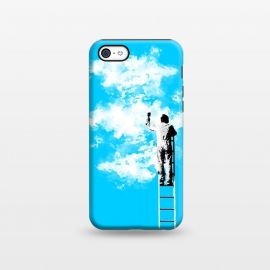 iPhone 5C  Painting clouds by Mitxel Gonzalez