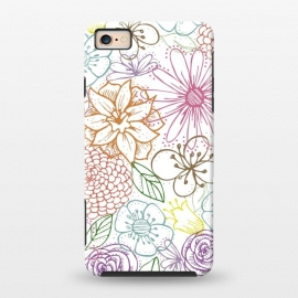 iPhone 6/6s  Bright Floral by TracyLucy Designs