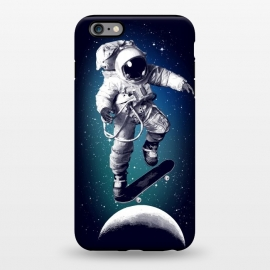 iPhone 6/6s plus  Skateboarding astronaut by Mitxel Gonzalez