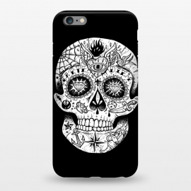 iPhone 6/6s plus  Tattooed Skull by Mitxel Gonzalez
