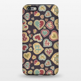 iPhone 6/6s plus  I Heart Doodling by Micklyn Le Feuvre