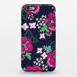 iPhone 6/6s plus  Pretty Pansy by Kimrhi Studios