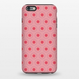 iPhone 6/6s plus  Pink Circular Floral by Rosie Simons ()